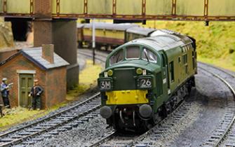 Model Railway Layouts at ARA